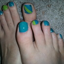 just did my toes(: