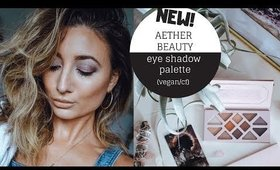 NEW VEGAN EYE SHADOW PALETTE + TUTORIAL + New Favorite Mascara | Ashley Morganic