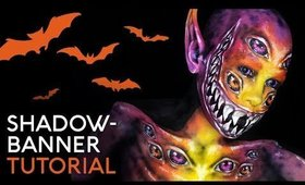 Shadowbanner | Cristress of the Dark | Body Paint Tutorial