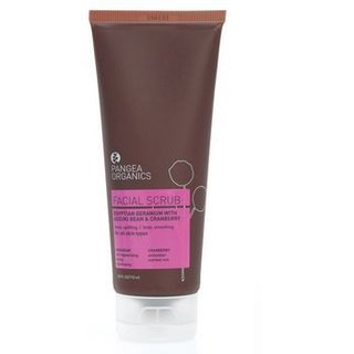 Pangea Organics Egyptian Geranium with Adzuki Bean & Cranberry Facial Scrub