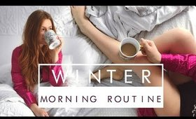 MORNING ROUTINE WINTER 2018 | Carolane Chartrand