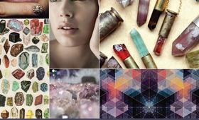 Beauty Mood Board: Semiprecious Pretty