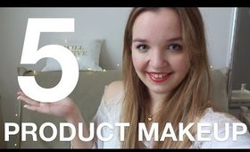 5 PRODUCT DRUGSTORE MAKEUP | STYLETHETWO