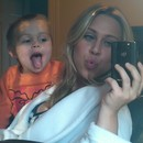 My son Pilot and I being silly