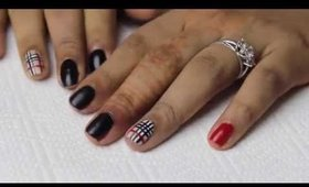 Copy of Burberry Inspired Nailart
