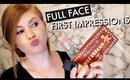 FALL GRWM! FULL FACE OF FIRST IMPRESSIONS | Kristen Kelley