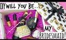 DIY Will You Be My Bridesmaid Gift - Kate Spade Inspired