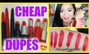 DUPES: High End vs. Drugstore Matte Lip Crayon  | #DupeTuesday EP. 1