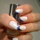 Blue and white + gems