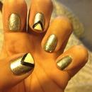 Sliver, Black and White nails