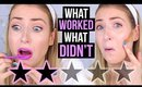 FULL FACE Testing WORST RATED Makeup: SEPHORA Edition!    What Worked & What DIDN'T