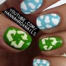 Recycle Nail Art