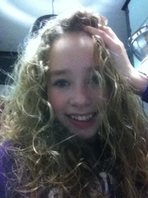 I have naturally curly hair but I use curl boosting mousse