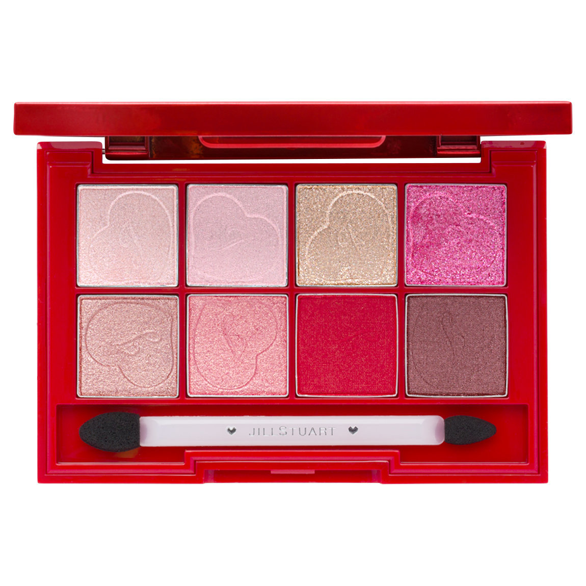 JILL STUART Beauty Galentine's Party Eyeshadow Palette product swatch.