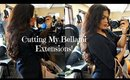 Cutting My Bellami Extensions!