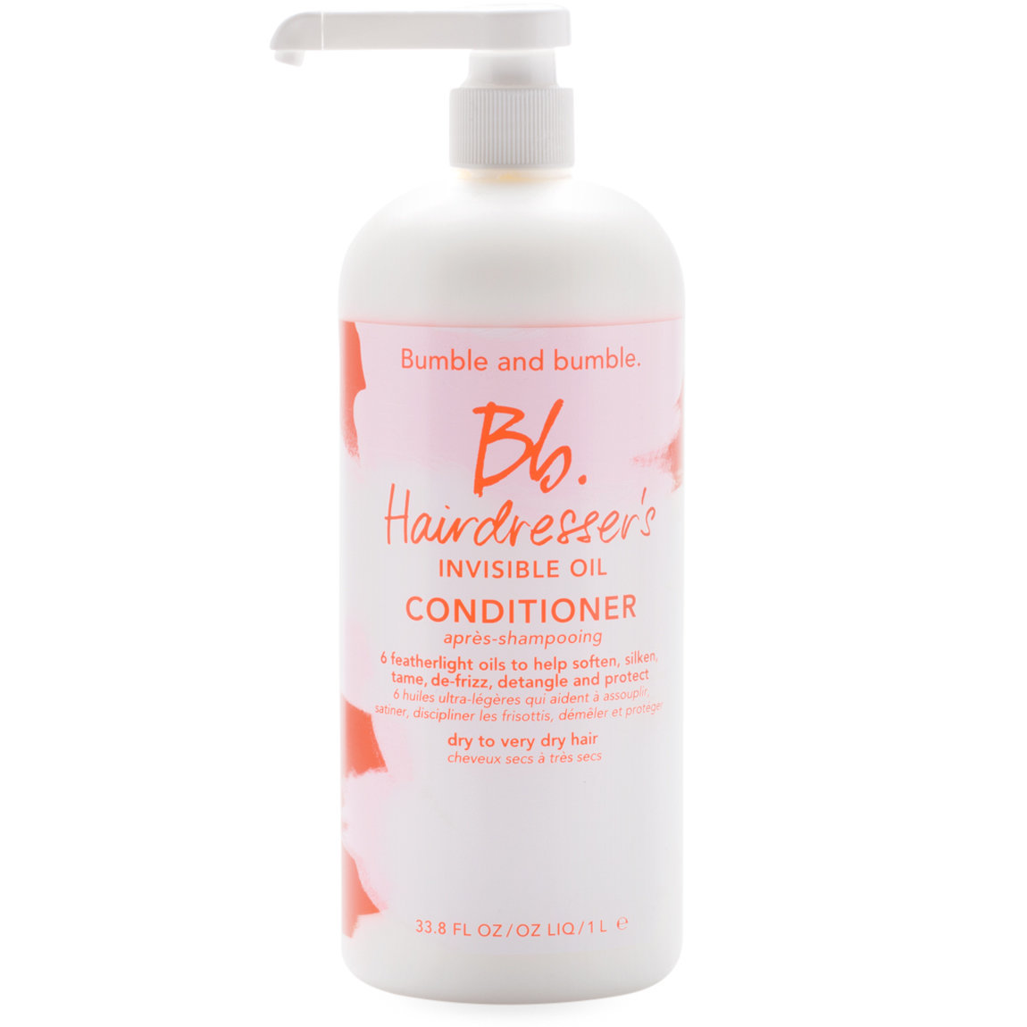 Bumble and bumble. Hairdresser's Invisible Oil Conditioner 1 L alternative view 1 - product swatch.