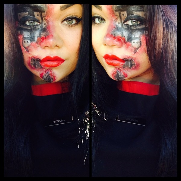 Half Human Half Robot | Jazmin F.'s Photo | Beautylish