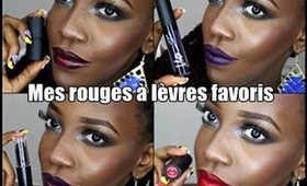 Mes rouges à lèvres favoris ( Automne/Hiver 2015 )