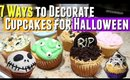 7 Easy Ways to Decorate Cupcakes for Halloween, 7 Easy Halloween Cupcake Ideas