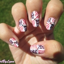 Pastel animal nails