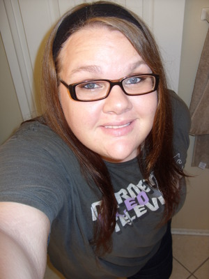 This is the newest picture I have of me. Its not very current, considering I just dyed my hair. :)