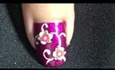 The beautiful lady-nailart tutorial.... :-)