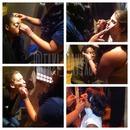 Man I love what I do! #clients #models #beautybyt #snobfaces #mua