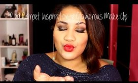 Red Carpet Inspiration l Glamorous Make-up ♡ Mimi La Tigresse