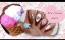 3D Ice Cream Nails (Gyaru) - Kirakiranail