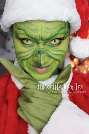 Hide yo trees, hide yo gifts, because the Grinch out there stealin' everything. This tutorial will be available on youtube.com/madeyewlook on 12/14/13