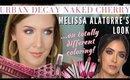 Recreating Melissa Alatorre's Blown Out Smokey Eye | Urban Decay Cherry