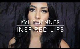 Kylie Jenner Inspired Lips