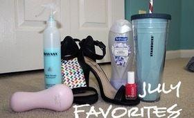 2013 July Favorites