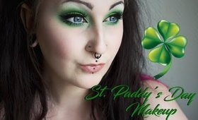 St. Paddy's Day makeup