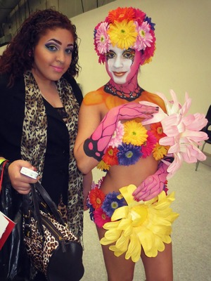 body art at imats <3