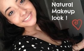Natural & Easy Makeup with a side of Frizzy hair LOL