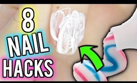8 Nail Hacks PERFECT For Beginners!
