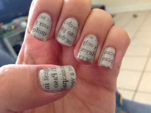 Always a fun and easy nail art to go to.