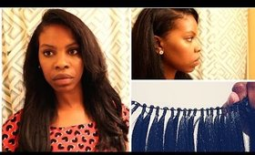 Undetectable Weave with Brazilian Knot Wefts