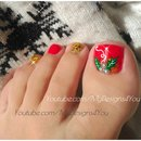 Christmas Pedicure