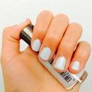 Spring pastel blue nails 💙