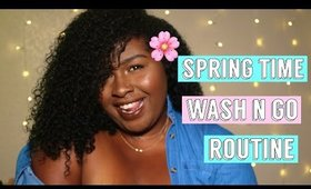 SPRING TIME FINE Wash n' Go | Curly Temple Wash n' Go