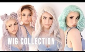 WIG COLLECTION + TRY ON!