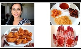 At Home Vlog: Lockdown, Prawn/Fish Bajji   Maruthani & More.......