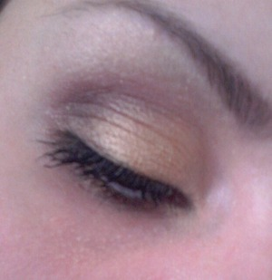 Brown and gold smokey