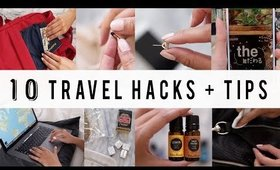 10 SMART TRAVEL HACKS + TIPS  | ANN LE