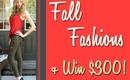 Fall Style Lookbook & WIN a $300 Shopping Spree!!
