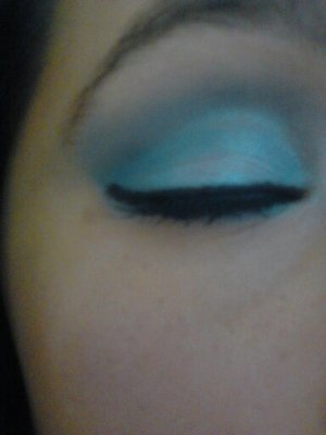Finished eye look