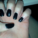 B.Young Black Nail Polish