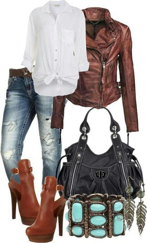 Cute everyday look really love the shoes